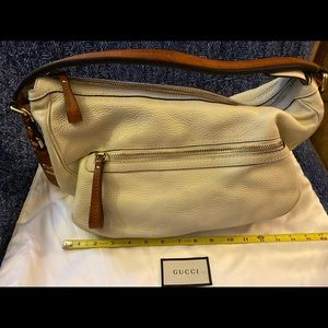 Gorgeous Cream Gucci Handbag!!